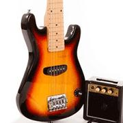 Guitares Acoustique, Électrique Et Basse