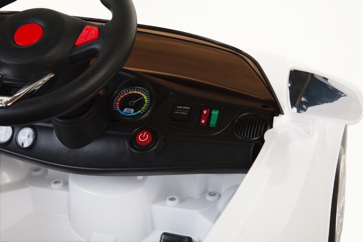 berline style 535 blanche suspensions telecommande voiture electrique pour en. Black Bedroom Furniture Sets. Home Design Ideas