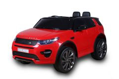 12V Land Rover Discovery HSE Sport sous licence Rouge