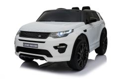 12V Land Rover Discovery HSE Sport sous licence Blanc