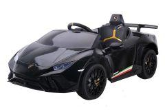 12V Lamborghini Huracan sous licence Noir