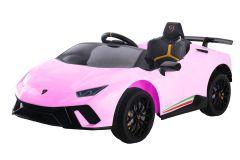 12V Lamborghini Huracan sous licence Rose