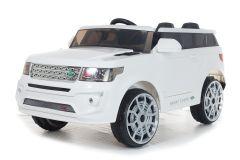 4x4 Blanc Sport Coupe 12V Style Range – Voiture Electrique Pour Enfants