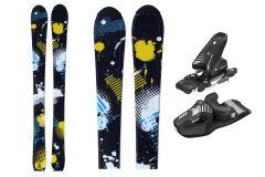 Skis garçons Tigris Junior 100cm avec fixations Tyrolia
