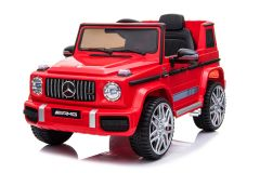 ARTICLE D'OCCASION - 12V Mercedes G Wagon G63 sous licence Rouge