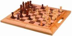 Jeu d'échecs traditionnel en bois pour enfant