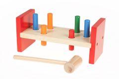 Planche à martelage en bois pour enfant