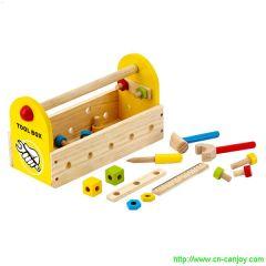 Petite caisse à outils en bois pour enfant