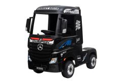 12V Camion Benz Actros sous licence Noir