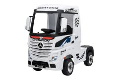 12V Camion Benz Actros sous licence Blanc