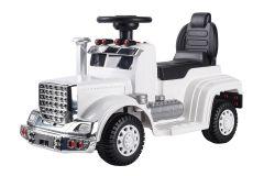 Camion Porteur 6V - Camion Electrique Pour Enfants Blanc