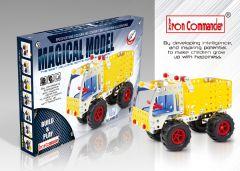 Camion benne en métal pour enfant - 179 pièce à assembler
