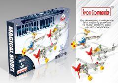 Modèles réduits avions 1 en métal pour enfant - 3 mixtes - 210 pièces à assembler