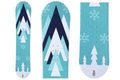 Snowboard unisex Tigris Junior 125cm