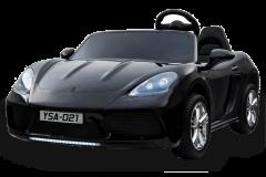 Supercar 24V deux sièges noir - Voiture Electrique Pour Enfant