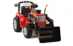 ARTICLE D'OCCASION - Tracteur Pelleteuse 12 Volts Rouge