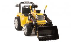 ARTICLE D'OCCASION - Tracteur Pelleteuse 12 Volts Jaune