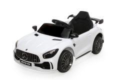 12V Mercedes GTR Blanc sous licence