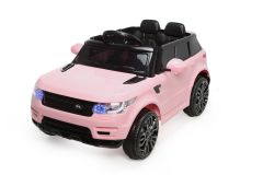 Battery Powered - 12V Pink Range Rover Style Ride On Car
