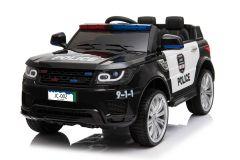 Voiture Police 12V Noir – Voiture Electrique Pour Enfants