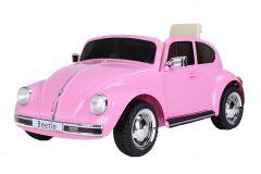 12V Volkswagen Coccinelle sous licence Rose