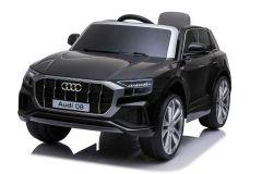 12V Audi Q8 Noir sous licence – Voiture Electrique Pour Enfants