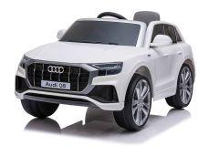 12V Audi Q8 Blanc sous licence – Voiture Electrique Pour Enfants