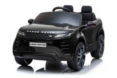 12V Range Rover Evoque Noir 2 sieges sous licence