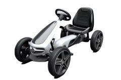 Karting à pédales sous licence Mercedes avec roues en EVA